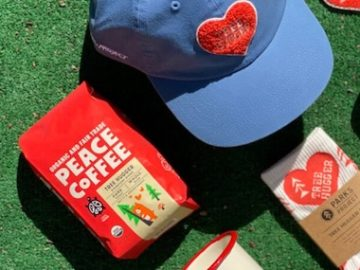 Peace Coffee Earth Day Giveaway