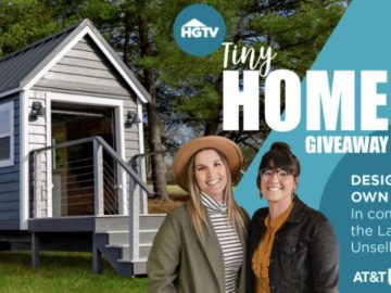 HGTV Tiny Home Giveaway (ATT TV + DirectTV Subscribers)