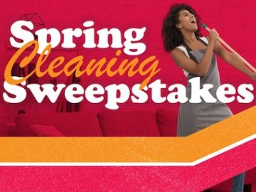 Lee Newspapers Spring Cleaning Sweepstakes