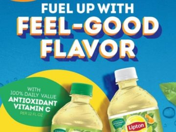 Lipton Fuel for a Year Sweepstakes at GPM (Limited States)