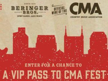 Beringer Bros. CMA Fest 2022 Sweepstakes