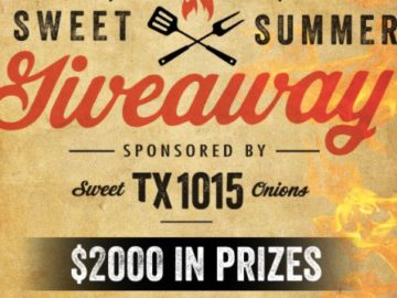Texas 1015 Sweet Onions Kickin' It Sweet Summer Giveaway