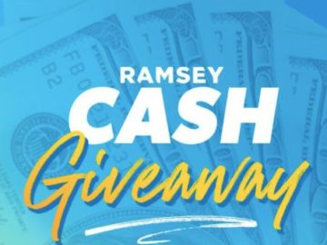 2021 Ramsey Cash Giveaway Sweepstakes