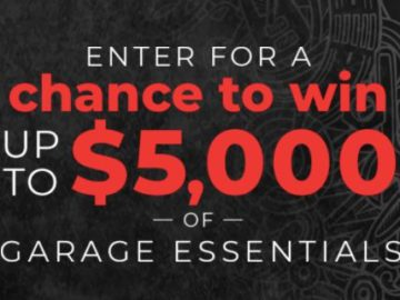 Discovery Channel Ultimate Garage Rescue Sweepstakes