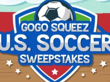 GoGo SqueeZ U.S. Soccer Sweepstakes