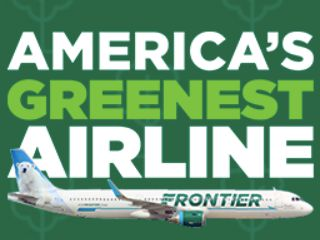 Frontier Airlines Green(e)s Fly Free