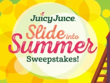 Juicy Juice Slide into Summer Sweepstakes (Purchase/Mail-In)