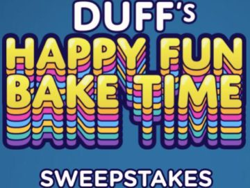 Popsugar X Discovery+ Duff's Happy Fun Bake Time Premier Sweepstakes