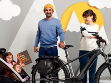 Thule x A Kids Book About x Charge E-bikes Ultimate Family Adventure Giveaway