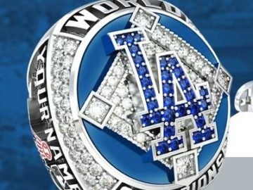 The LA Dodgers 2020 World Series Championship Ring Sweepstakes
