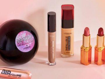 L'Oreal Paris Makeup Shakeup Giveaway