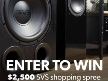 Crutchfield SVS Great Gear Spring 2021 Sweepstakes