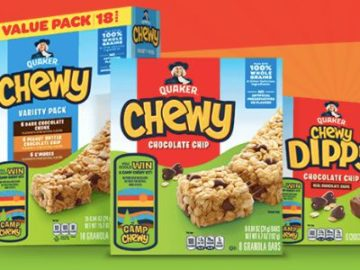 Quaker Camp Chewy Sweepstakes (Purchase/Mail-In)