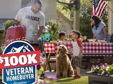 Realtor.com Stars, Stripes and Summer $100K Veteran Homebuyer Giveaway