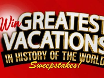 """TMZ """"Greatest Vacation in History of the World"""" Sweepstakes (Code)"""