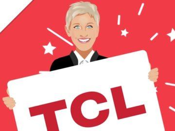 """Ellen DeGeneres - Win a 65"""" TCL Android TV!"""