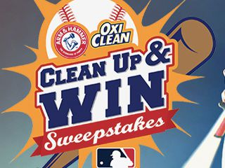 Oxi Clean Clean Up & Win Sweepstakes