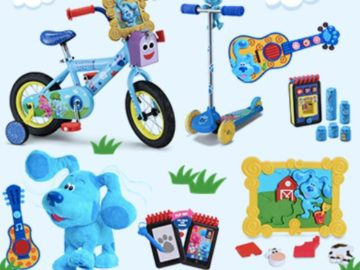 May 2021 Blue's Clues & You! Spring into Summer Sweepstakes