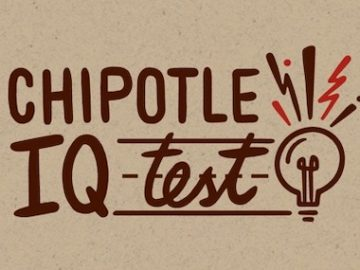 The Chipotle IQ Contest and Sweepstakes