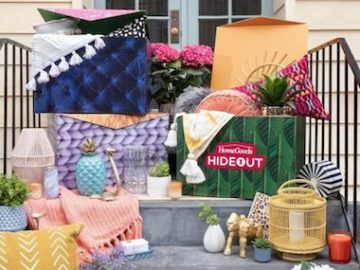 HomeGoods Hideout In A Box Sweepstakes (Instagram)