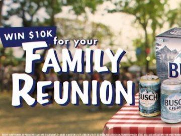 Busch Family Reunions Contest (Social Media)