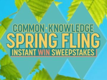 "The Game Show Network ""Common Knowledge"" Spring Fling Sweepstakes"