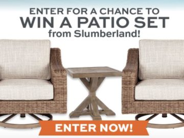 Slumberland Memorial Day Patio Giveaway