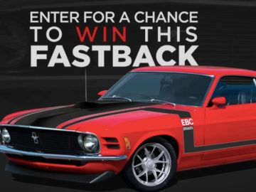 The EBC Brakes Muscle Car Sweepstakes