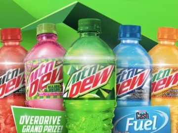 """The Mtn Dew """"Flavor Overdrive"""" Sweepstakes at Speedway (Limited States)"""
