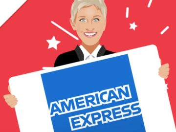 Ellentube Presents $600 American Express Gift Card Sweepstakes