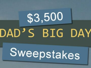 Dad's Big Day Out Sweepstakes