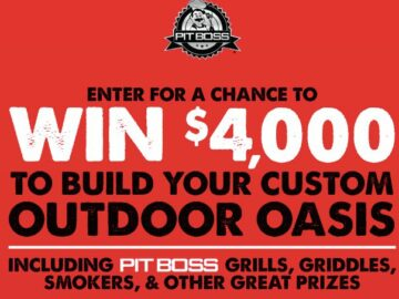 Coca-Cola Pit Boss $4,000 Outdoor Oasis Giveaway (LA and MS Only)