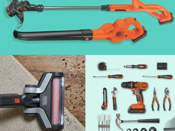 Black + Decker Powerconnect Products Giveaway