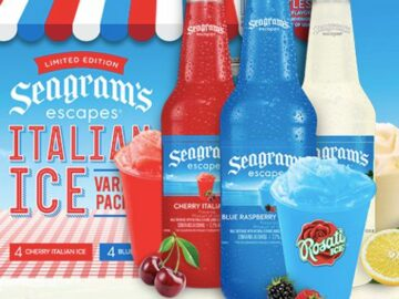 The Real Seagram's Escapes Italian Ice Sweepstakes