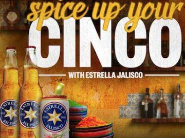 Estrella Jalisco Spice Up Your Cinco Sweepstakes