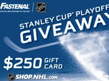 Fastenal Stanley Cup Playoffs Giveaway