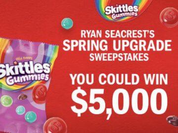Ryan Seacrest's Spring Upgrade Sweepstakes