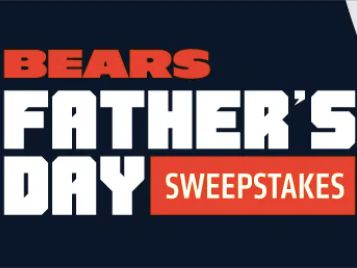 Miller Light 2021 Chicago Bears Father's Day Sweepstakes