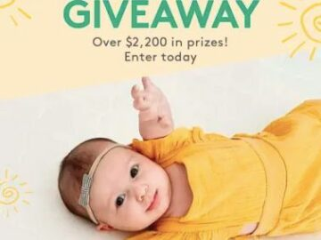 Newton Baby Sunny Days Giveaway