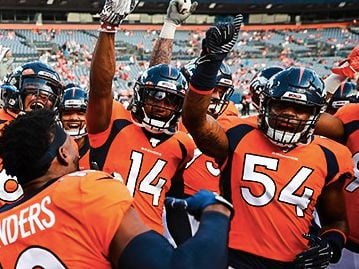 Broncos and Empower Retirement Fan Fly In Sweepstakes