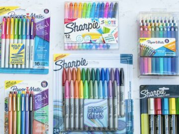 Office Supply Colorful Creative Pens Package Giveaway