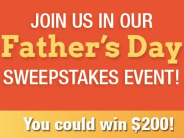 HealthyChildren.org 2021 Father's Day Sweepstakes