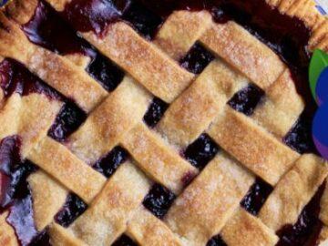 America's Best Blueberry Pie Contest (Recipe w/ Photo)