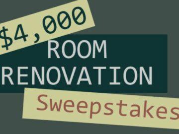 $4,000 Room Renovation Sweepstakes