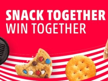 Mondelez Togetherness Games Sweepstakes and Instant Win Game