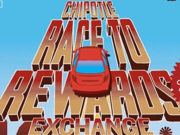 Chipotle Race to Rewards Exchange Contest