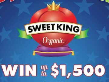 Sweet King Organic Tomatoes Red, White & Win Sweepstakes