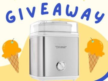 Fruits From Chile National Ice Cream Month Giveaway