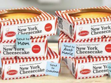 Junior's Summer Celebration Cheesecake Giveaway