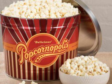 """The Popcornopolis """"Movie Night"""" Sweepstakes (Facebook)"""